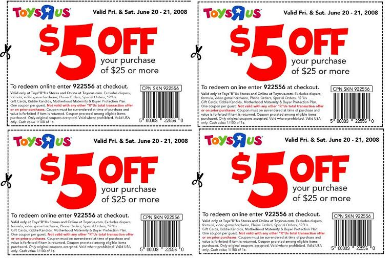 photo relating to Printable Toys R Us Coupon called Cost-free Thomas The Motor Coach And $5 Off $25 At Toys R Us