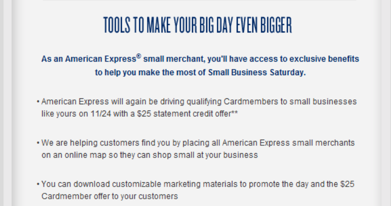 Confirmed: AMEX Small Business Saay Will Return 11/24/12 ... on map games, map jewelry, map books, map services,