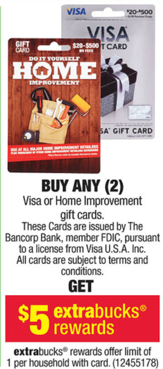they also sell a 500 vanilla visa gift card for 50495 that can be uploaded to bluebird or used for money orders or billpay at walmart - Cvs Visa Gift Card
