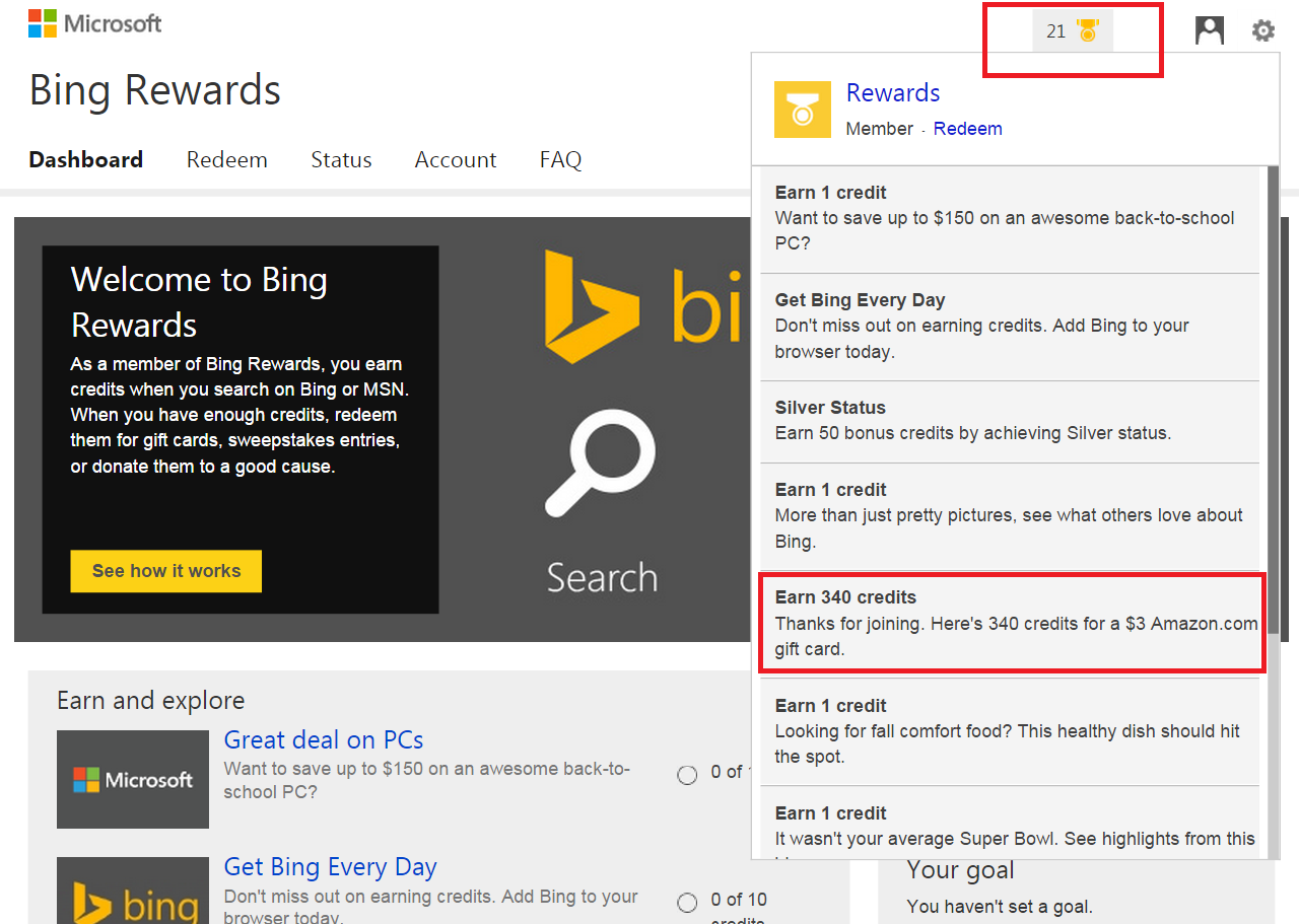 Bing Rewards Promo Code Promo Codes For Bing Rewards 2017